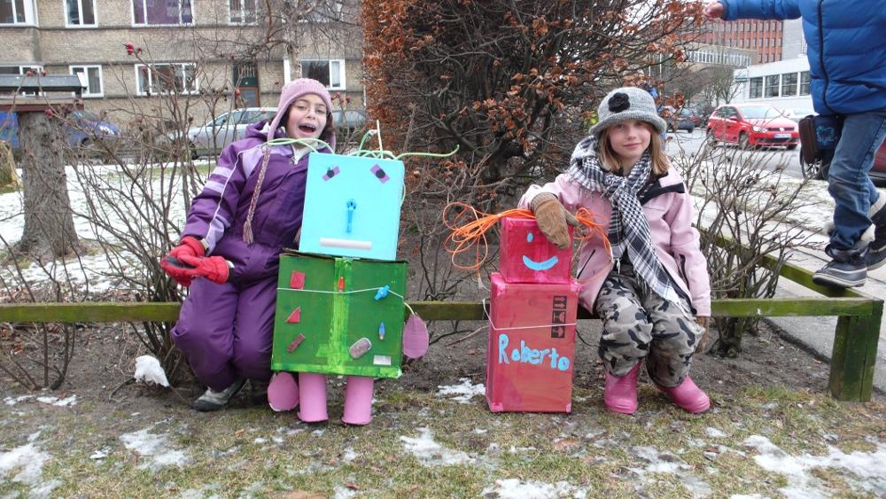 børn og kunst Maegaard