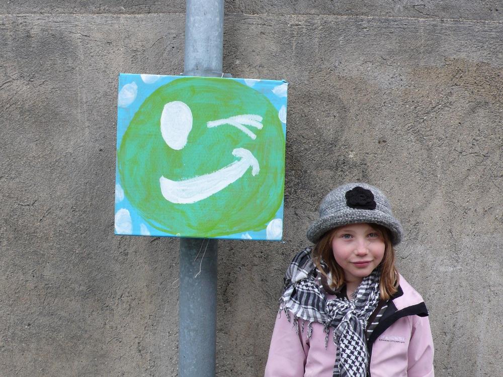 børn og udsmykning Maegaard